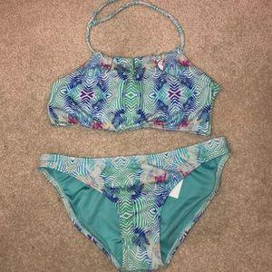 Other - Girls Zebra two piece swimsuit